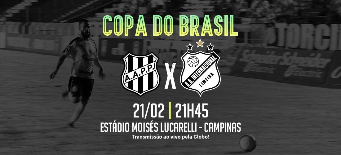 CBF define duelo entre Inter de Limeira e Ponte Preta para dia 21 ... 2f2154c23cedf